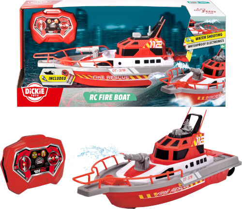 Dickie RC Fire Boat, RTR