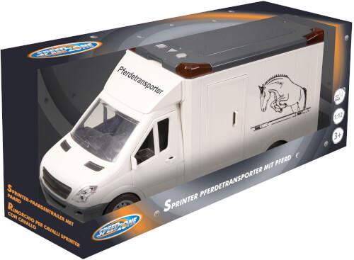 Speedzone D/C Sprinter Pferdetransporter und Pferd