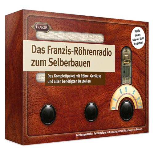 Franzis: Röhrenradio zum Selberbauen