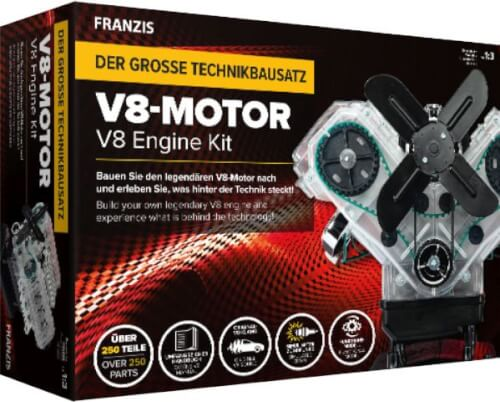 Franzis: V8-Motor