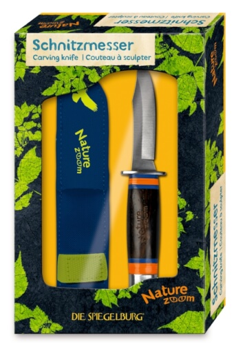 Die Spiegelburg 10949 Nature Zoom - Schnitzmesser, ab 6 Jahre