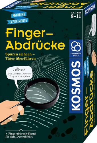 Kosmos Finger-Abdrücke