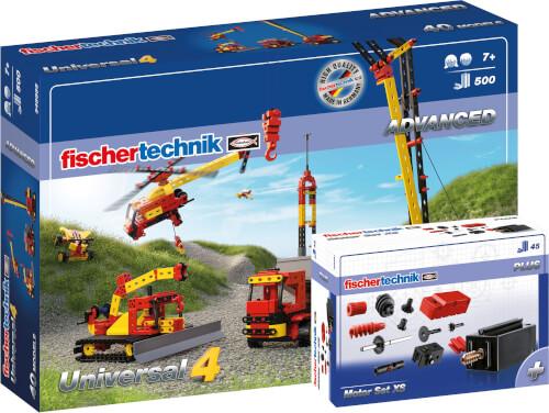 fischertechnik Universal 4 + Motor Set XS