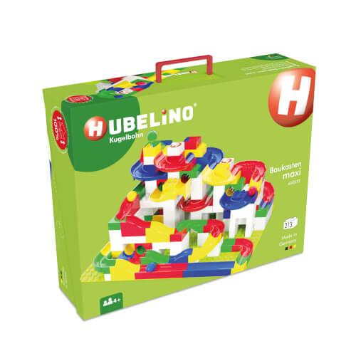 HUBELINO Kugelbahn Baukasten maxi (213-teilig)