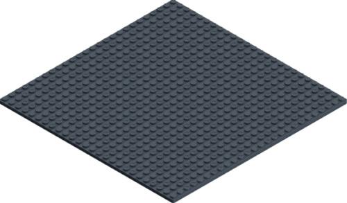 HUBELINO pi Grundplatte (26×26)