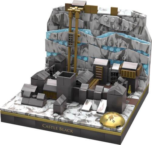 Mattel GNW37 Mega Construx Probuilder Game of Thrones Die Schwarze Festung