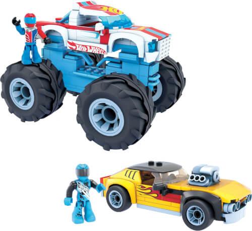 Mattel GYG22 Mega Construx Hot Wheels Rodger Dodger & Racing