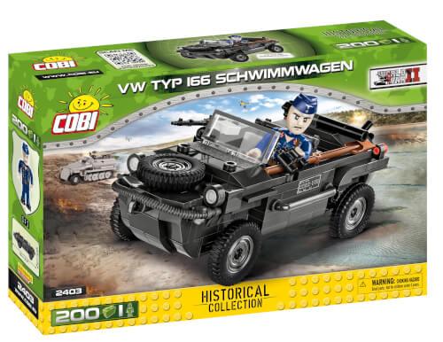 Cobi 2403 VW typ 166 Schwimmwagen