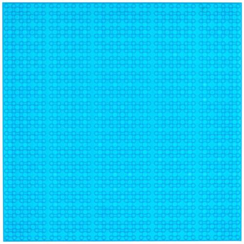 Open Bricks Baseplate 32x32 transparent blue (2)