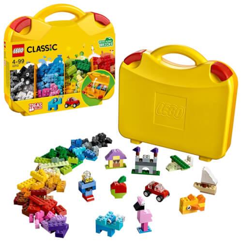 LEGO® Classic 10713 Bausteine Starterkoffer, Farben sortieren, 213 Teile, ab 4 Jahre