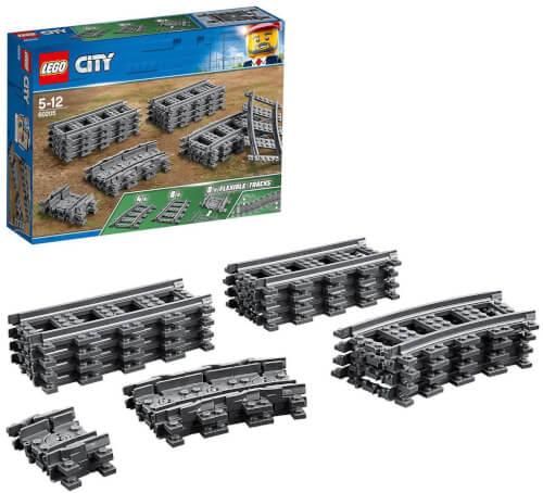 LEGO® City 60205 Schienen und Kurven, 20 Teile