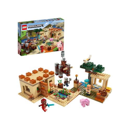 LEGO® Minecraft 21160 Der Illager-Überfall