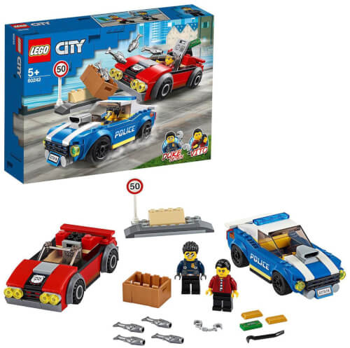 LEGO® City 60242 Festnahme auf der Autobahn