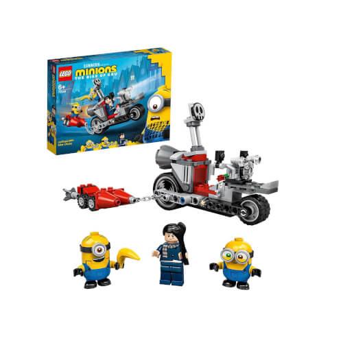 LEGO® Minions 75549 Unaufhaltsame Motorrad-Jagd