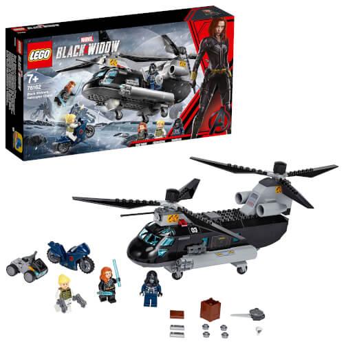 LEGO® Marvel Super Heroes 76162 Black Widow s Helikopter-Verfolgungsjagd