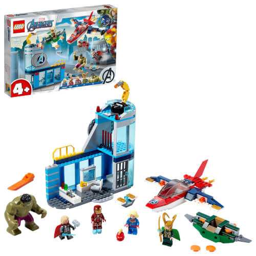 LEGO® Marvel Super Heroes 76152 Avengers Lokis Rache