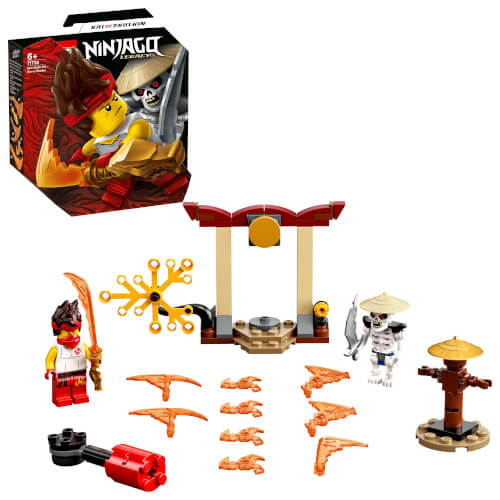 LEGO® NINJAGO 71730 Battle Set: Kai vs. Skulkin