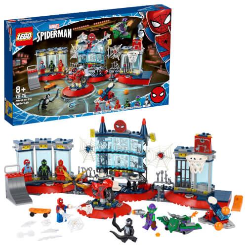 LEGO® Marvel Super Heroes# 76175 Angriff auf Spider-Mans Versteck