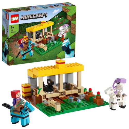 LEGO® Minecraft# 21171 Der Pferdestall