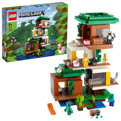 LEGO® Minecraft™ 21174 Das moderne Baumhaus