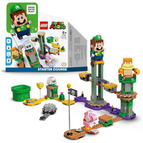 LEGO® Super Mario 71387 Abenteuer mit Luigi – Starterset