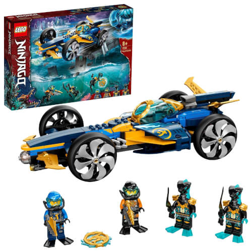 LEGO® NINJAGO 71752 Ninja-Unterwasserspeeder