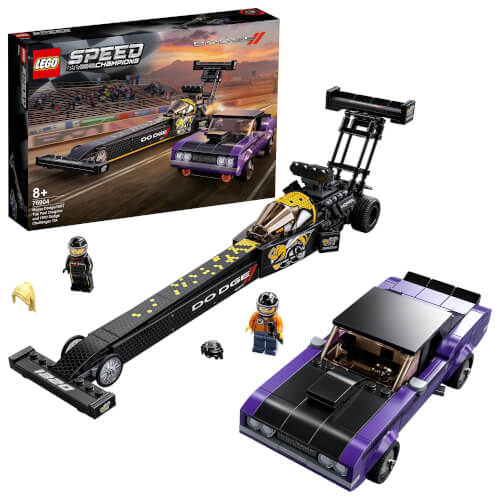 LEGO® Speed Champions 76904 Mopar Dodge//SRT Dragster & 1970 Dodge Challenge