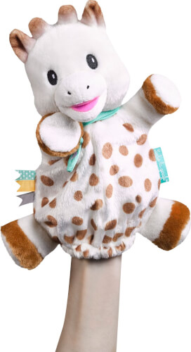 Handpuppe Sophie la girafe Giraffe Plüsch
