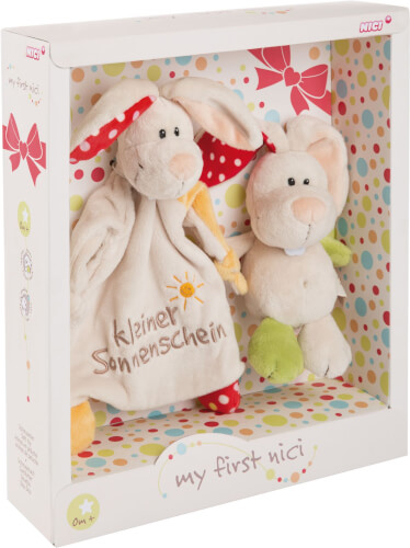 Nici - Schmusetier+Schmusetuch Hase Tilli