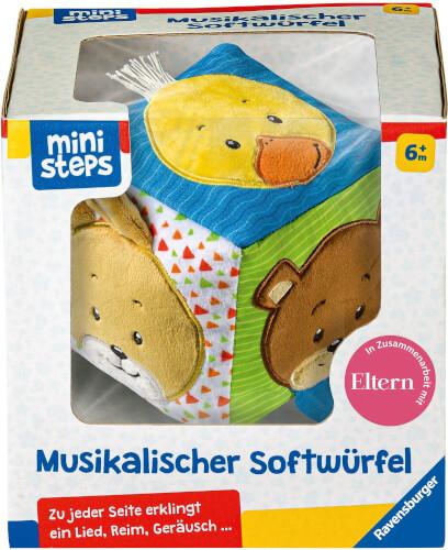 Ravensburger 04162 Musikalischer Softwürfel