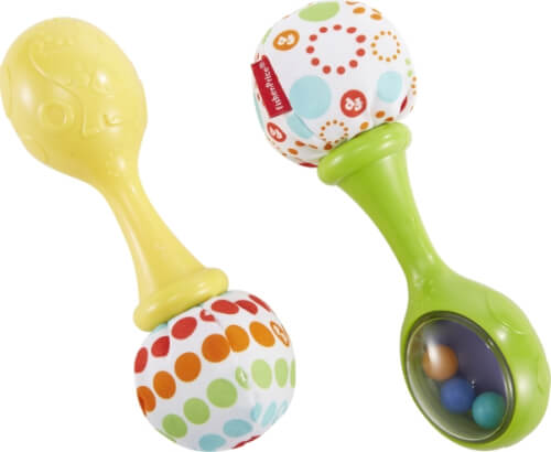 Mattel Fisher Price Babys Rumba-Rasseln