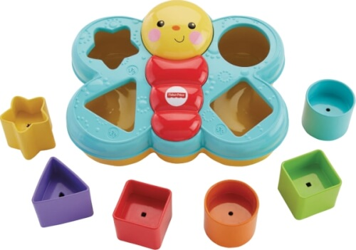 Mattel Fisher Price ierspaß-Schmetterling