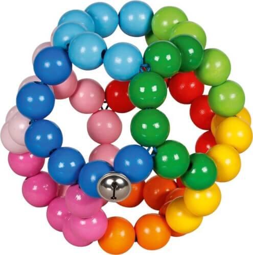 GoKi Greifling Elastik Regenbogenball, groß