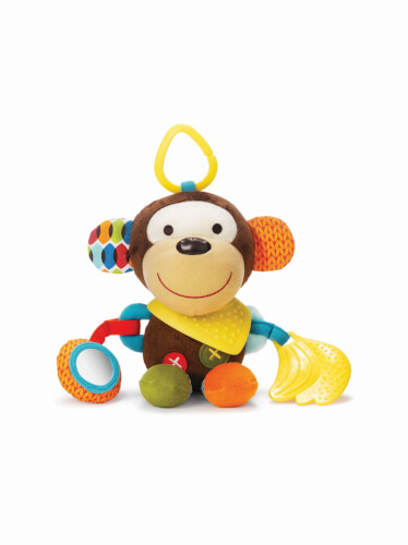 Skip Hop Bandana Pals Activity Toy Monkey - Plüschtier Affe