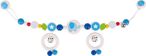 GoKi Kinderwagenkette Elefant, blau