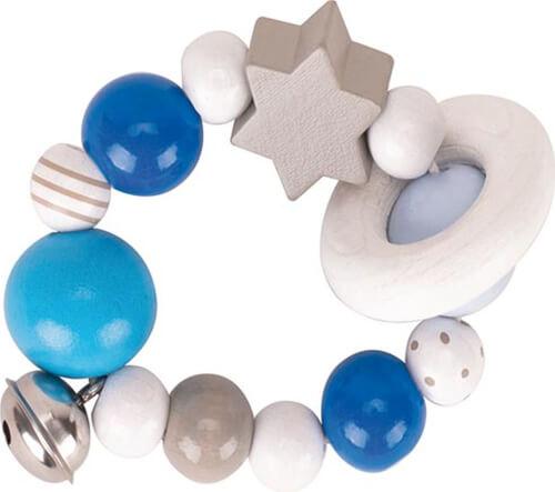 GoKi Greifling Elastik blau, grau, weiß