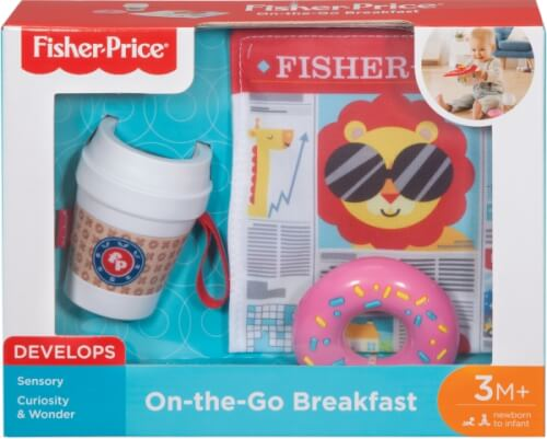 Mattel FGH85 Fisher-Price Coffe-to-Go Baby Set