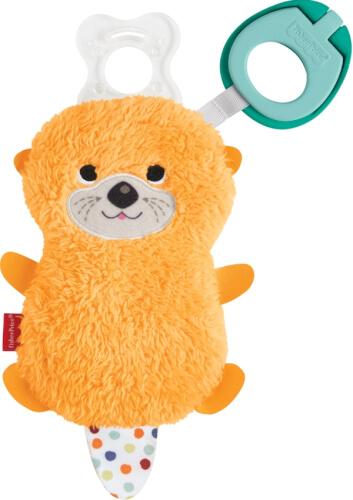 Mattel GNP46 Fisher-Price Schnullertierchen mit Clip, sortiert