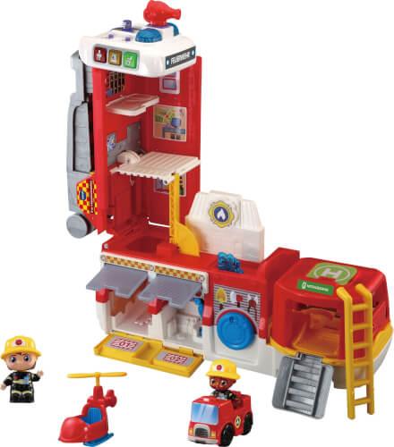 Vtech 80-529804 2-in-1-Feuerwehrstation