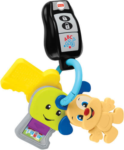 Mattel GRF19 Fisher-Price Lernspaß Schlüsselbund