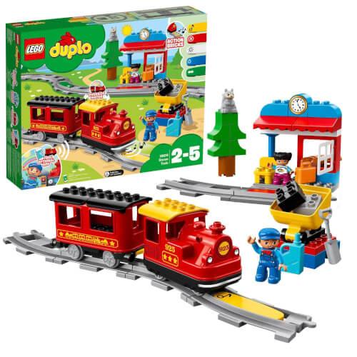 LEGO® DUPLO® 10874 Dampfeisenbahn, 59 Teile