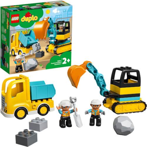 LEGO® DUPLO® 10931 Bagger und Laster