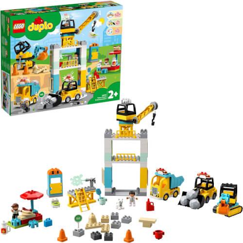 LEGO® DUPLO® 10933 Große Baustelle mit Licht und Ton