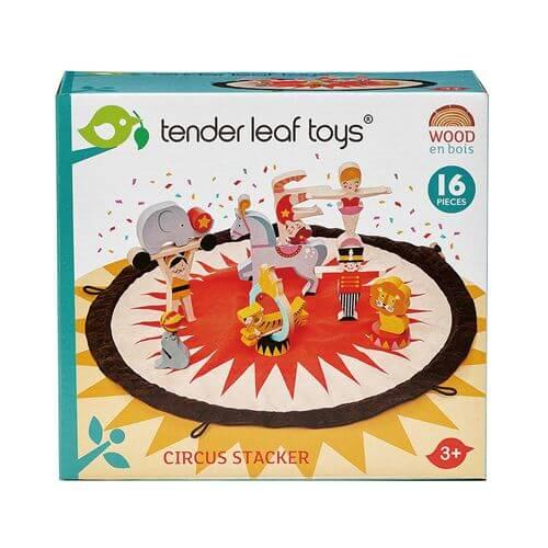 Tenderleaftoys - Stapelspiel Zirkus