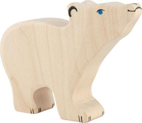 GoKi Eisbär, klein, Kopf hoch