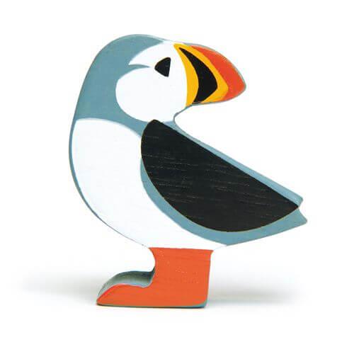 Tenderleaftoys - Holztier Papageientaucher