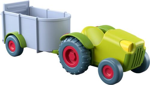 HABA - Little Friends - Traktor mit Anhänger, ab 3 Jahren