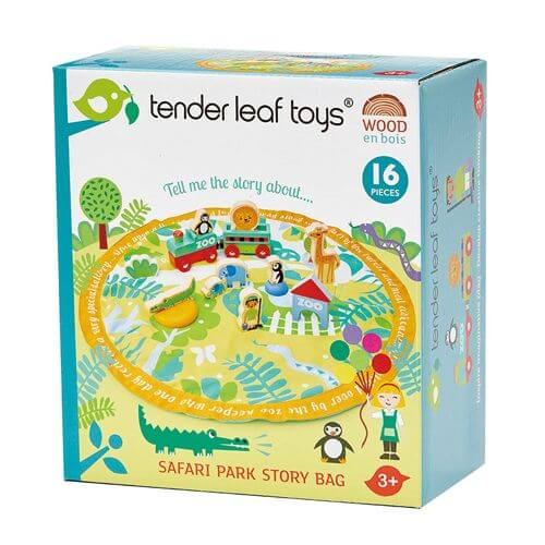 Tenderleaftoys - Story Bag Safari mit Zubehör
