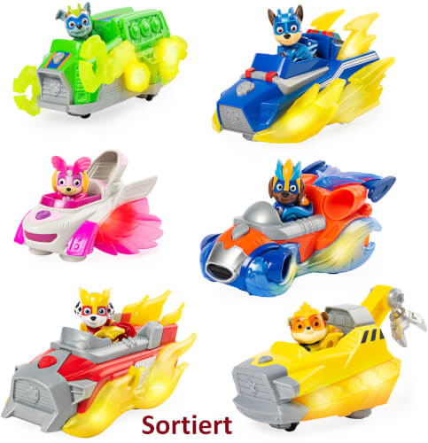 Spin Master Paw Patrol Mighty Charged Up Basic Vehicle