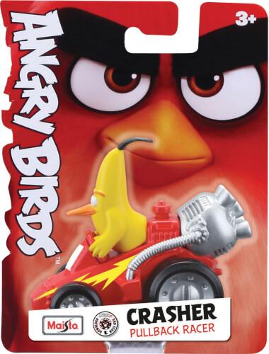 Angry Bird CRASHERS 6,3cm, 6-fach sortiert, Rückziehmotor, Blister